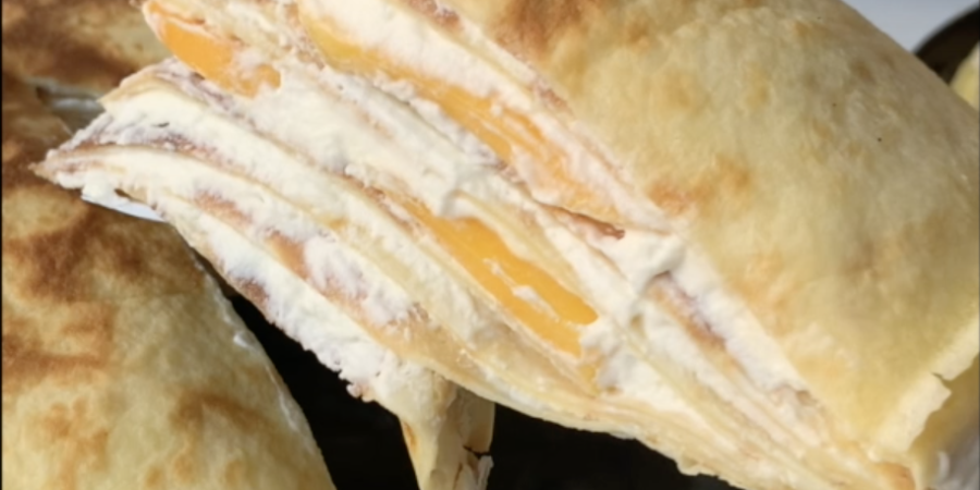 Recette mille crepe mangue stefy