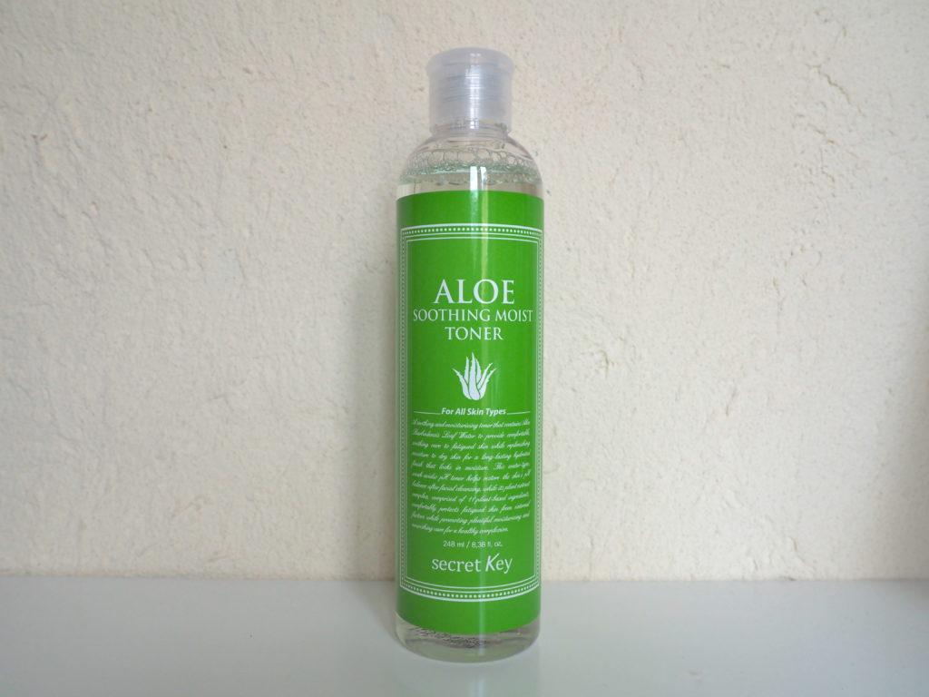 Aloe soothing moist toner de secret key