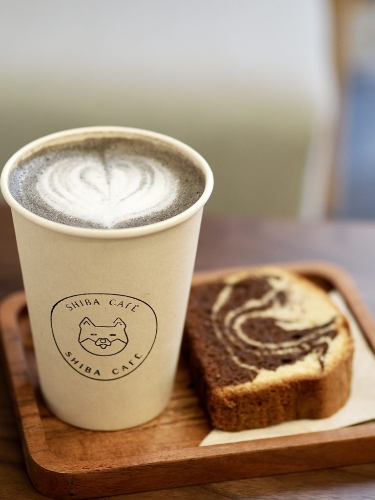 Grey Latte de Shiba Café (sésame noir)
